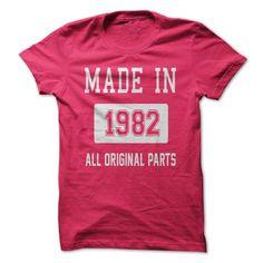 MADE IN 1982 - ALL ORIGIN... #Aged #Tshirt #year
