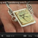 I like several of the techniques learnt here.....  Easy Image Transfer Onto Polymer Clay Pendant Necklace | Embellishment Connection