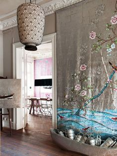 What to do with that big piece of silk Chinese fabric! (Very cool!)