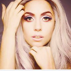lady gaga... with a normal face. once in a lifetime thing guys.