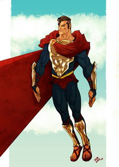Superman Redesign by Anjin Anhut
