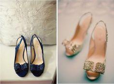 Hermosos diseños de zapatos de novia   Especial zapatos de bodas