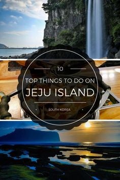 Top 10 Things to Do on Jeju Island Travel tips 2019 Top 10 Things to Do on South Korea's Jeju Island South Korea Travel, Asia Travel, Travel Tips, Travel Destinations, Travel Guides, Travel Hacks, The Rok, Jeju Island, Destination Voyage