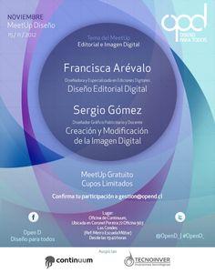 Afiche de MeetUp de Diseño - Open D Diseño para todos! Mes de Noviembre 2012