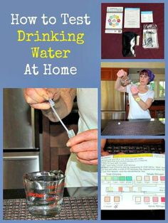 Survival Buzz: How to Test Your Drinking Water + Giveaway via water Survival Buzz: How to Test Your Drinking Water Water Survival, Emergency Water, Survival Life, Survival Food, Wilderness Survival, Outdoor Survival, Survival Prepping, Survival Skills, Survival Hacks