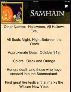 Samain:  Samhain.