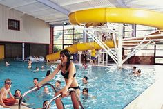 Lady's Mile Touring & Camping Park, Shutterton, Dawlish, Devon, UK, England. #AroundAboutBritain. Campsite. Holiday. Travel. Indoor Swimming Pool. Bowling Alley. Gym. Sauna.