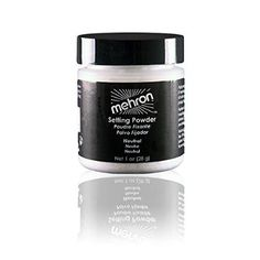 Mehron ultrafines Makeup Setting Powder - Neutral/Translucent (0.6 oz)