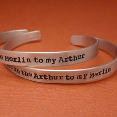 Merlin Inspired  Arthur to my Merlin & by chasingatstarlight, $28.95 if only I knew someone to give the other to