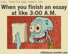 Writing dissertation last minute