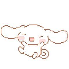 Pixel kawaii rabbit