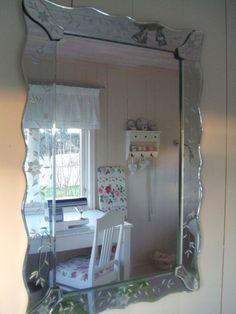 Venetiansk speil fra IKEA