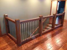 Stairway Railing Ideas Stair Railing Ideas Wooden Stairs Stair - New Ideas Stairway Railing Ideas, Indoor Stair Railing, Loft Railing, Interior Stair Railing, Porch Stairs, Stair Railing Design, Outdoor Stairs, Staircase Railings, Stairways