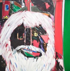 R.B. Kitaj, The Last of England (Self Portrait),2002, Oil painting on canvas, Presented by the Artist in Memory of Colin St John Wilson Pallant House Gallery, Presented by the Artist in Memory of Colin St John Wilson, © The Estate of R. B. Kitaj