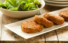 Quinoa and Sweet Potato Cakes #recipe #vegan #dinner