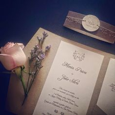 GUIDA Design de Eventos: Convites da Maria e do João
