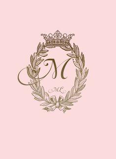Madeleine L& - Logo design Monogram Wallpaper, Alphabet Wallpaper, Name Wallpaper, Wallpaper Iphone Cute, Galaxy Wallpaper, Flower Wallpaper, Wallpaper Quotes, Cute Wallpapers, Wallpaper Backgrounds