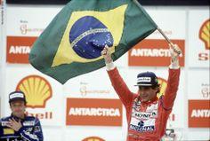 Ayrton  Senna do Brazil -Foi um Grande piloto da Formula Um
