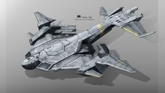 Transport airplane, Yi Wei on ArtStation at https://www.artstation.com/artwork/transport-airplane