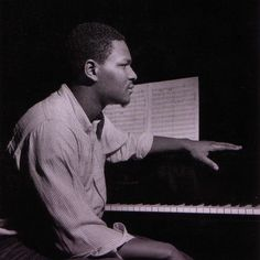 McCoy Tyner during Hank Mobley's A Slice of The Top session, Englewood Cliffs NJ, March 18 1966 (photo by Francis Wolff)