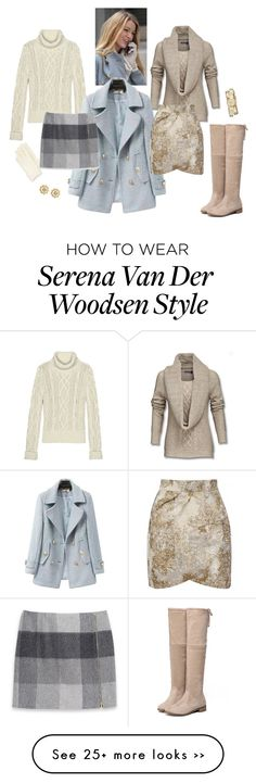 """""""147."""" by natlik on Polyvore featuring Lands' End, Chicnova Fashion, Sofia Cashmere, Tommy Hilfiger, Yumi, Tory Burch, gossipgirl, inspiration and falloutfit"""