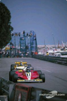 Carlos Reutemann, Ferrari 312 T3, Monaco, 1978.