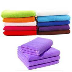 70*140cm Microfiber fabric colorful Bath Towel for Sports Travel Gym Fitness Beach Swim and Camping