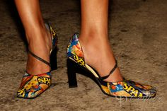 SPAM Canned Meat SHOES Women Custom HighHeel by CouturePrototype, $99.95