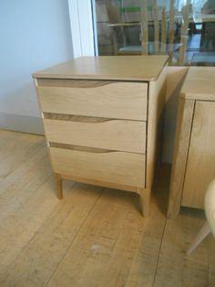 Rimini 3 drawer bedside