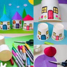 Saved craft Bible Crafts For Kids, Paper Crafts For Kids, Easy Crafts For Kids, Craft Activities For Kids, Summer Crafts, Projects For Kids, Diy For Kids, Diy And Crafts, Cup Crafts