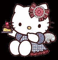 161 Best Hello Kitty Images Cat Gif Glitter Wallpaper Kitty Gif