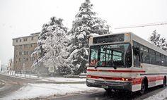 #Andorra #Escaldes Engordany #snow #neu #nieve #niege #bus #transporte #autocar #vehículos #publictransport