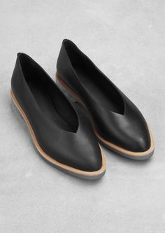 Leather slip-ons | Leather slip-ons | & Other Stories