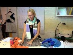 How to Upcycle Old Sweaters into a Cool Scarf