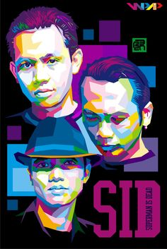 SID SUPERMAN IS DEAD by p32n.deviantart.com on @deviantART Pop art portrait #SID #Bali #music #musik #portraits
