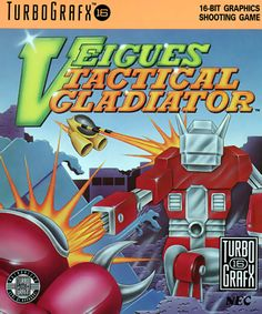 Veigues - Tactical Gladiator (USA) #retrogaming #turbografx