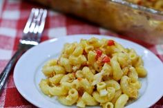 I'm about to share with you the recipe for the best macaroni and cheese I've ever tasted. Ever. Creamy and comforting with a slight little change from the ordinary macaroni and cheese recipes you may have tried before and light years from the boxed varieties you find in the supermarket. This