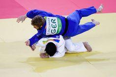 Tobias Englmaier ist im Judo im Achtelfinale ausgeschieden. Er unterlag dem...