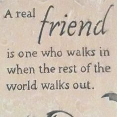 Are you a real #friend?  #quote #motivation EndeavorMedia