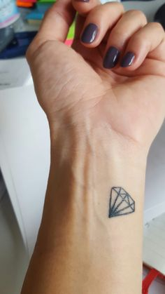 small diamond - tattoo
