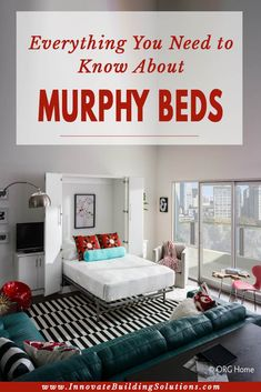 """DIY Murphy Bed - How to build easily in just 15 easy stepsFind out more about """"Murphy Bed Plans Queen"""". Visit our website. murphybedplansqueenDIY Murphy Bed - How to build easily in just 15 easy Build A Murphy Bed, Best Murphy Bed, Queen Murphy Bed, Murphy Bed Desk, Murphy Bed Plans, Murphy Bed Mechanism, Diy Storage Bed, Innovation, Bed Images"""