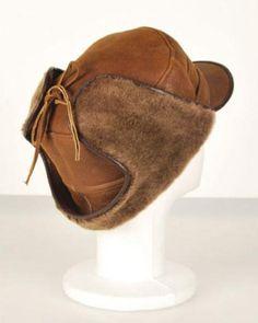 NEW Sheepskin Winter Round Soft Warm Hat Unisex Real Leather Shearling Lambskin