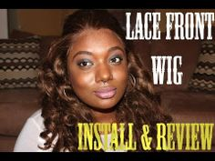 Lace Front Wig from abhair.com Install and Review    #abhair #hairstyle #humanhair #hairextension #abhairstyle #abhairlove #clipin #fashion #beautiful #hair