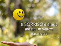 Il sorriso è gratis