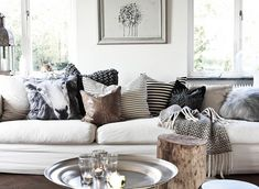 Daniella Witte {white scandinavian eclectic modern living room} | Flickr - Photo Sharing!