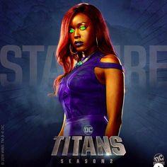 [Artwork] I edited the DCU Titans Starfire look Dc Comics Funny, Dc Comics Women, Dc Comics Girls, Marvel Dc Comics, Starfire Titans, Starfire Dc, Teen Titans, Dc Universe, Titans Tv Series