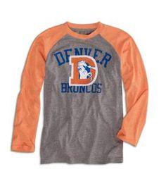 GO BRONCOS! lil mans new Broncos shirt thanks to 77kids.com!! <3 this line of clothes!!
