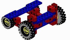 Plan for Lego Balloon Car - demonstrates Newton's 3rd law of motion. Use with Apologia Chemistry and Physics, physics activities, homeschool science