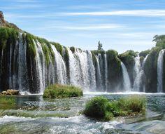 Nature is amazing in Croatia - Zrmanja's beautiful Veliki Buk Waterfall...