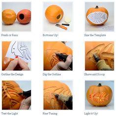 Fabulous Pumpkin Carving Ideas & Free Templates